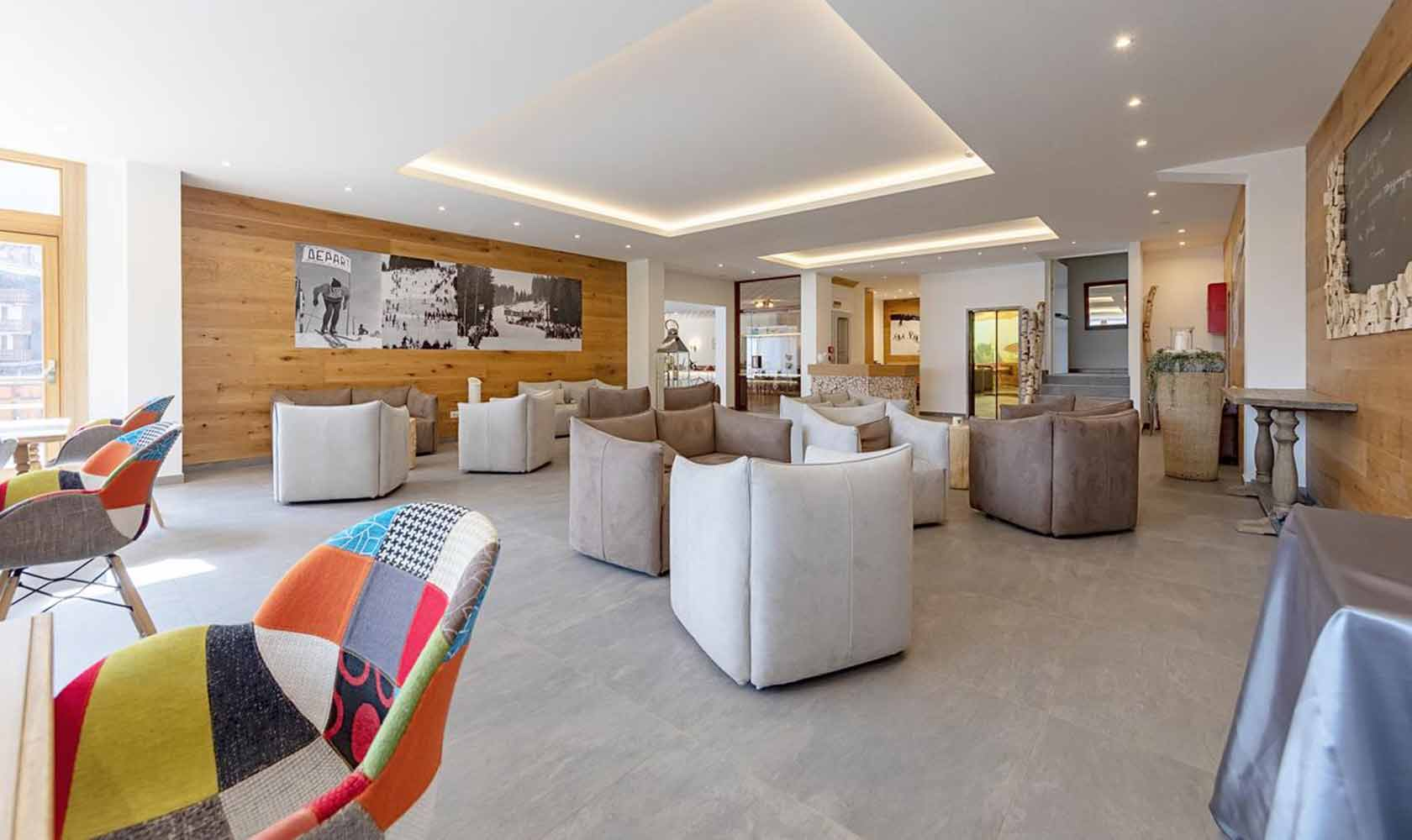 reception hotel campiglio